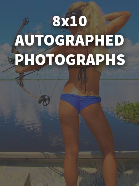 8x10 Autographed Photographs