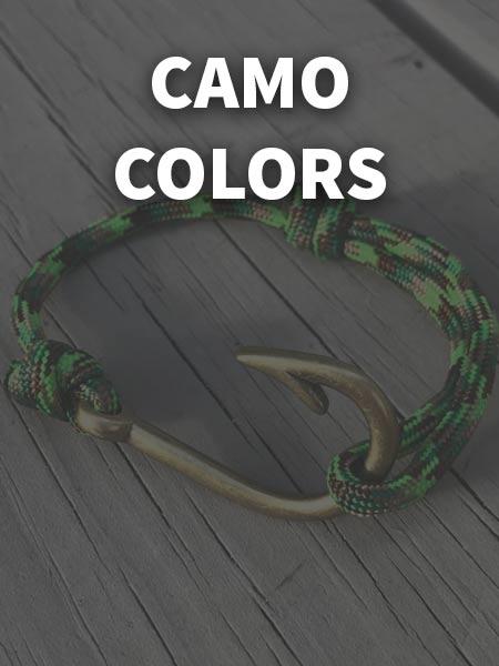 Camo Color Bracelets
