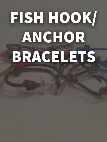 Fish Hook & Anchor Bracelets