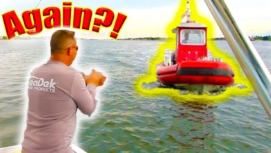 Photo of A Day Full of FISHING FAILS is Saved by a TOWBOAT & a Fan! *HD*