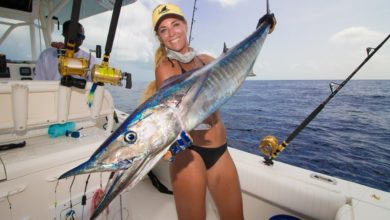 Photo of Offshore Fishing for GIANT WAHOO in the Bahamas!