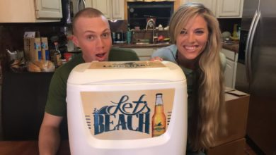 Photo of Gigantic COOLER Giveaway! ft. Special US Marine Guest (Recorded Live)