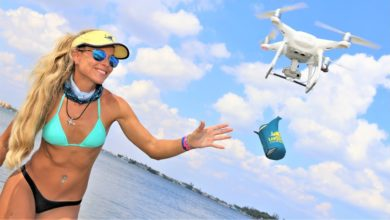 Photo of Florida Sandbar Raft Up Party ft. DRONE BEER Delivery!
