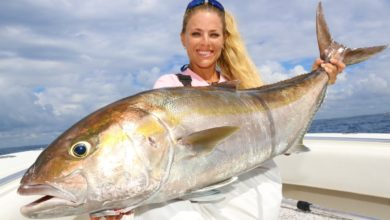 Photo of I DEFEATED This GIANT AMBERJACK! Hardest Fight of the Year!