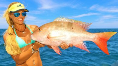 Photo of BEST DAY EVER! Deep Sea MUTTON SNAPPER Fishing & Mahi Mahi!